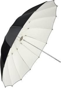 Paraply Reflektiv Hvit - 105 cm