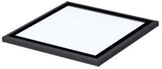 VELUX Glass plant 5-15° tak 100x100 del 2 vindu for flate tak
