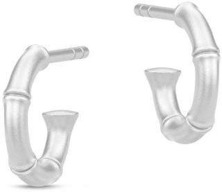 Julie Sandlau Bamboo Earring Accessories Jewellery Earrings Hoops Sølv Julie Sandlau Women