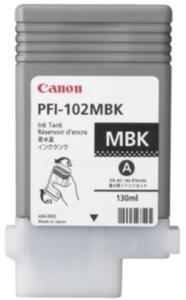 Canon PFI-102 MBK Blekkpatron matt svart 0894B001 Tilsvarer: N/A Canon