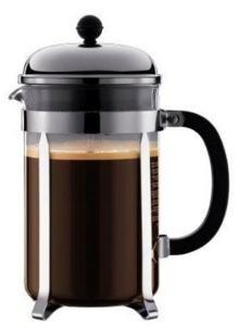 BODUM CHAMBORD Coffee maker - 12 cups - black 1932-16TR-10
