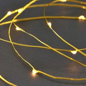 House Doctor - Garland Lights - Brass (Vg0212) Brass  AC9GM2