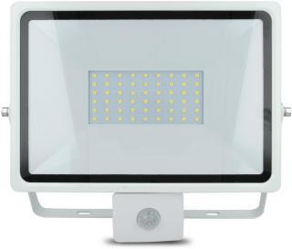 PIR LED lampe 50W - 6000K