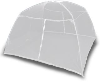 vidaXL Campingtelt 200x150x145 cm glassfiber hvit