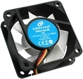 COOLTEK CT-Silent Fan 60 60x60x25 (CT60BW)
