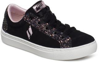Skechers Girls Sidestreet Sneakers Sko Svart Skechers