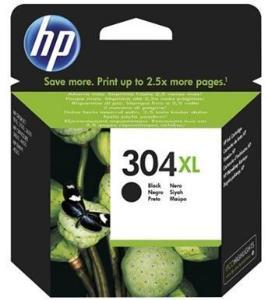 HP Blekkpatron No.304XL Sort Høykapasitet (12ml) N9K08AE (Kan sendes i brev)