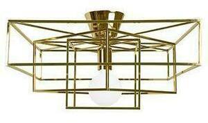 Globen Lighting Cube takplafond messing L-661063-13996339560500 Taklampe / Vegglampe