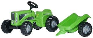 Rolly Toys Tråtraktor Futura Grønn Med henger