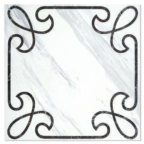 Klinker Hill Ceramic Fedra Hvit 45x45 cm