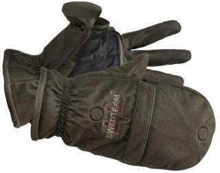 Swedteam Green Man Gloves, Green, L