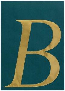 Ellos Poster Bernice 50x70 cm Unisex Grønn/gull
