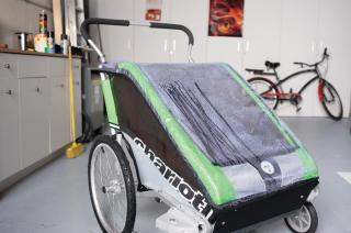 Thule Chariot Chinook1 Regntrekk Ytterligere regnbeskyttelse