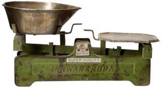 Brukt Kjøkkenvekt Vintage ~ Grønn (152-755001)