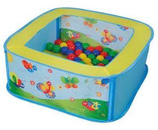 knorr® toys ballbad Ballix inkludert 25 lekballer