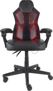 DELTACO GAMING stol med RGB belysning GAM-086