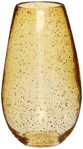Hübsch Vase Glass Ravgul 29 cm