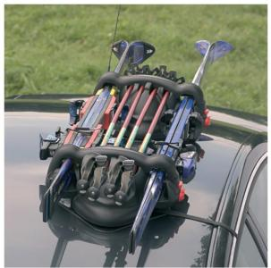 Magnetisk skiholder - Viking - 2 par ski