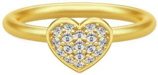 Julie Sandlau Pure Heart Ring Smykker Gull Julie Sandlau Women
