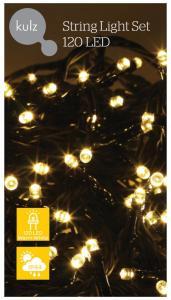 KULZ LYSSLYNGE 120 LED, VARM HVIT