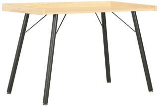 Be Basic Skrivebord eik 90x50x79 cm - Brun