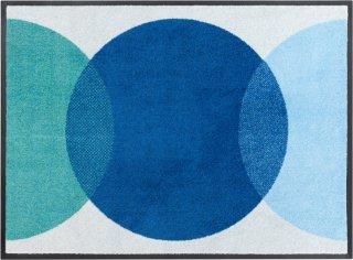 Spot Blue dørmatte 85x115 cm Heymat