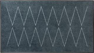 Lyn Grey dørmatte 85x150 cm Heymat