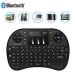 Rii I8+ Mini Bluetooth Trådløst Tastatur - Svart