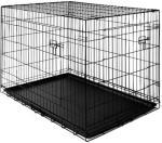 0 Sammenleggbart og låsbart transportbur - hundebur