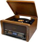 Soundmaster Retro platespiller TT/BT/CD/USB Unisex
