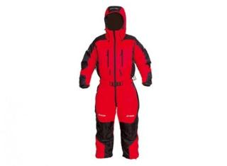 Bergans Expedition Down Suit RedBlack | SportsDeal