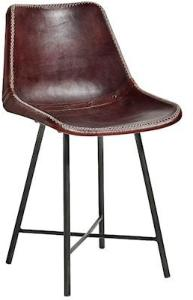 Nordal leather chair stol