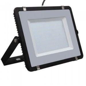 V-Tac 200W LED lyskaster - Samsung LED chip, arbeidslampe, utendørs - Kulør : Kald, Dimbar : Ikke dimbar, Farge på huset : Svart
