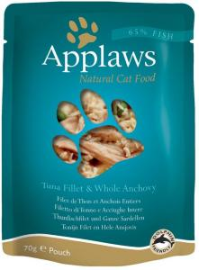 Applaws porsjonsposer 12 x 70 g - Kylling med asparges