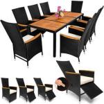 0 Rotting spisegruppe - 2 regulerbare stoler