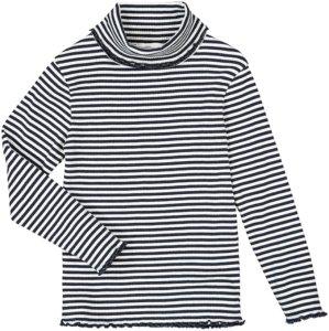 La Redoute Ribbestrikket, stripete genser Women Stripet natur/blå
