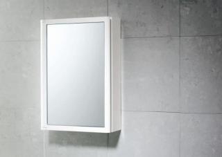 HeFe Speilskap 30x45 cm, Hvit