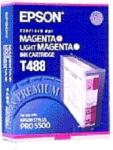Epson Blekkpatron magenta / lys magenta 125ml T488 Tilsvarer: N/A Epson