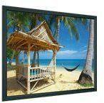 PROJECTA HomeScreen Wide Format - Projeksjonsskjerm - 102 in (260 cm) - 16:10 - Matte White - RAL 7021, gråsvart (10600179)