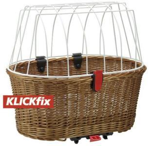KlickFix Doggy Basket for Racktime  2020 Sykkelkurver til bagasjebrett