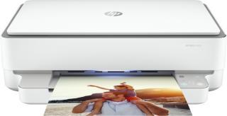 HP skriver ENVY 6020 Blekkskriver, Print/copy/scan, 10 ppm, 60 ark, USB/WiFI/BT (5SE16B )