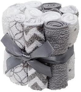 HÜTTE & CO-vaskekluter 12-pack grå