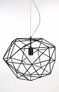 Globen Lighting Pendel Diamond Svart