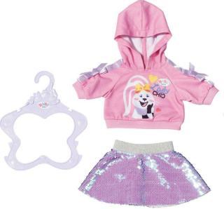 BABY Born Sister Fashion - hoodie og skjørt til dukke 43 cm