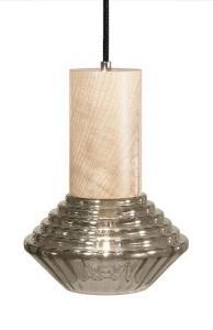 Globen Lighting Pendel Edge Røyk