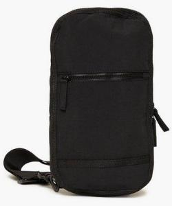 Topman Sling Cross Body Bag Vesker Black Onesize male
