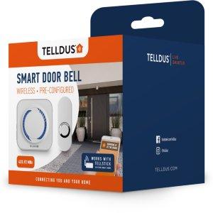 TELLDUS Trådløs dørklokke og trykknapp (095-14450)