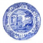 Blue Italian Plate 15cm