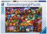 Travel Shelves 2000 biter Puslespill Ravensburger Puzzle