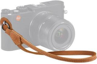 Leica Håndleddstropp for M X og Q Cognac-farget skinn